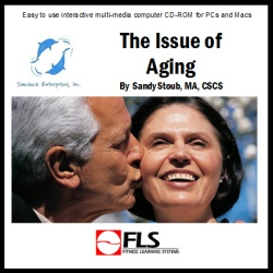 The Issue of Aging Logo