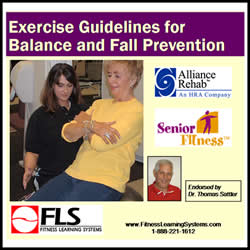 Exercise Guidelines for Balance and Fall Prevention Logo